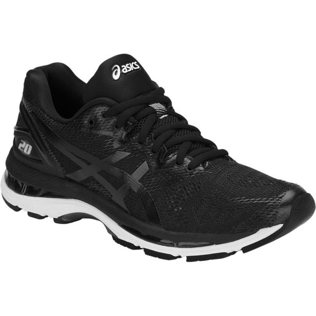 Asics Gel Nimbus 20 Noire Et Blanche chaussure running