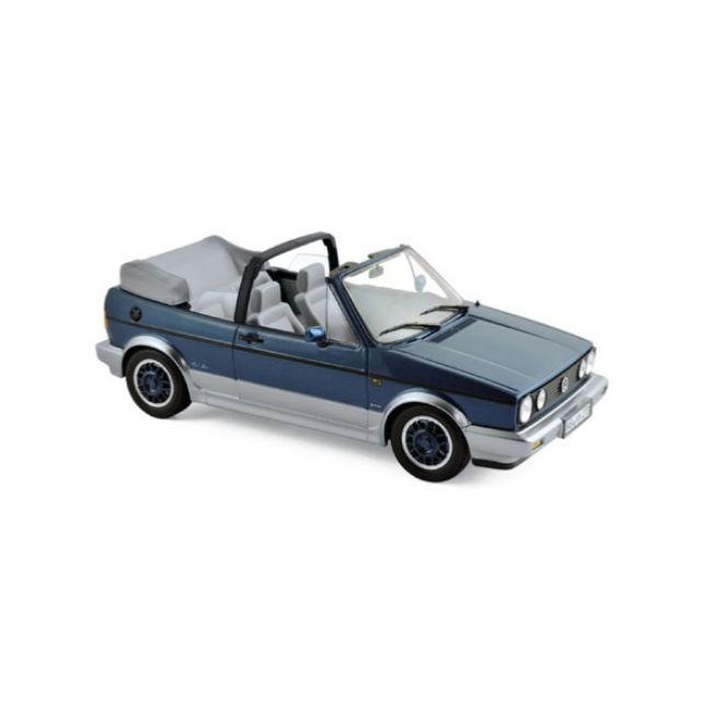 Norev Volkswagen Golf Cabriolet Bel Air Blue 1992 1/18 - 188404 Volkswagen Golf Cabriolet Bel Air Blue 1992 1/18 - 188404 Norev Modèle 188404 Colour Blue Metallic