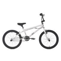 KS CYCLING - BMX freestyle 20'' Fatt blanc