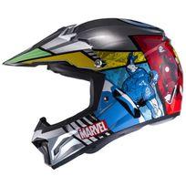 Hjc - casque moto cross enduro quad enfant Clxy Marvel Avengers Mc-21 S