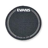 Evans - Deux Patches de Protection de Peau de Grosse Caisse. Noir Eqpb1