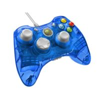 Afterglow - Copy of Manette filaire Rock Candy Blueberry Boom bleue - XBOX 360