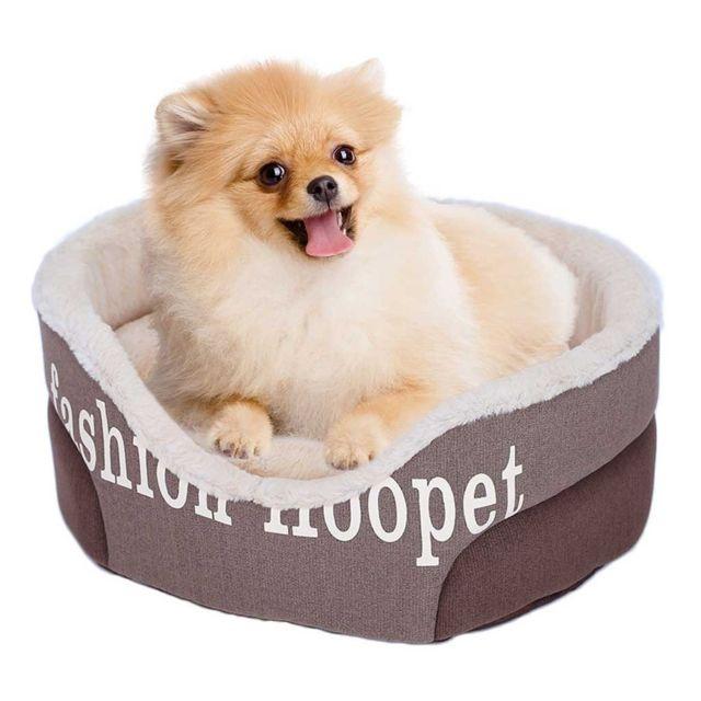 Generic Pet Sofa Dog Bed Tapis De Chiot Causeries Et Doux Nid Coussinets Confortable Élevages Chaud Marron