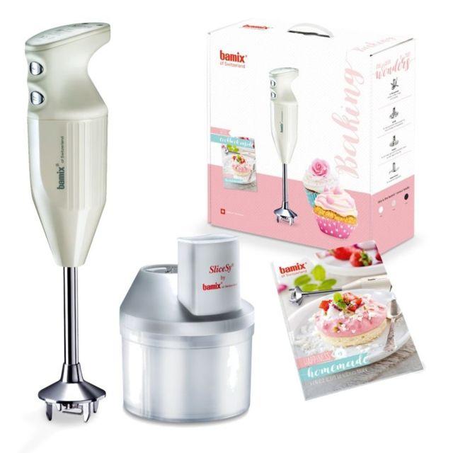 BAMIX mixeur plongeant multifonctions 200w crème - mx105903