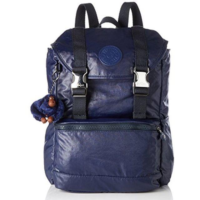 b13e02c6d2 Kipling - Sac à dos Experience Lacquer Indigo 45 Cm - pas cher Achat / Vente  Cartables, sacs à dos maternelle - RueDuCommerce