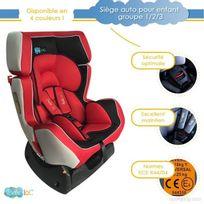 Bebe Lol - Siège auto évolutif Bébélol® pour enfant groupe 0+/1/2 normes Ece R44/04 - rouge