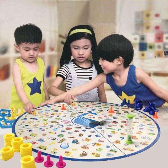 Wewoo Jeu construction Diy Puzzle Enfants Détectives À La Recherche Graphique De Société En Plastique Cérébral Education Kit