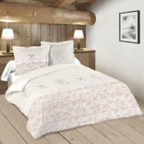 Lefebvre Textile - Parure de lit Camelia 240 x 220 cm
