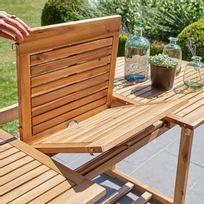 Tables de jardin Bois - Achat Tables de jardin Bois pas cher - Rue ...