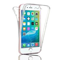 "Cabling - Coque Silicone Gel Integrale Iphone 7 4,7"", Transparent 360° Degrés Tpu"