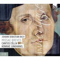 Harmonia Mundi - Johann Sebastian Bach - Missae breves Boitier cristal