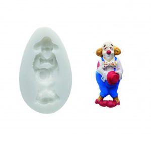 silikomart moule clown pour p te sucre pas cher achat vente moule. Black Bedroom Furniture Sets. Home Design Ideas