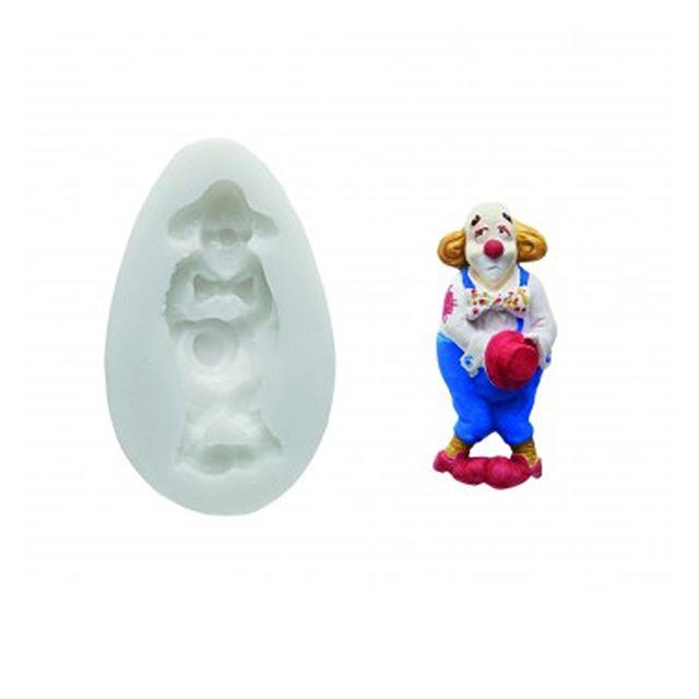 silikomart moule clown pour p te sucre blanc pas cher achat vente moule. Black Bedroom Furniture Sets. Home Design Ideas