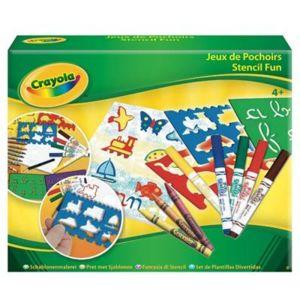 Crayola - Jeux de pochoirs