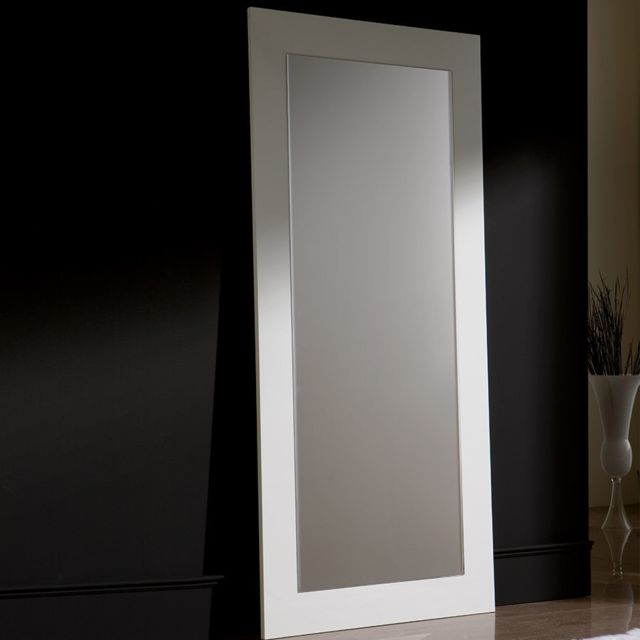 Kasalinea Grand miroir design blanc Eudora