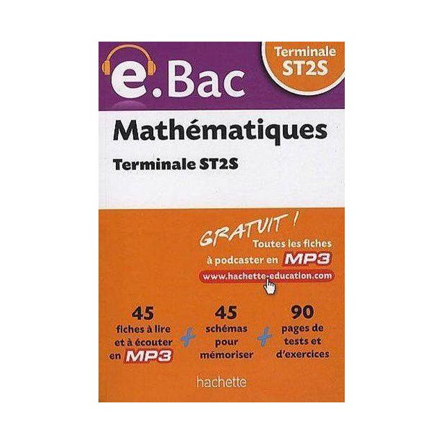 mathematiques bac st2s