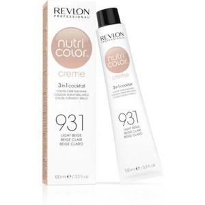 Revlon - Tube Nutri color Crème 931 Beige Clair 100 Ml