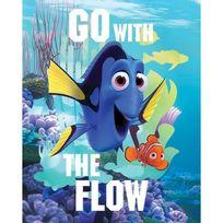 Graham & Brown - Dory Go with the flow Toile imprimée 40x50 cm bleu