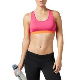 Reebok Sport Femmes Soutien-gorge Sport Essentials Top Soutien-gorge b85965 Fitness Yoga Jogging