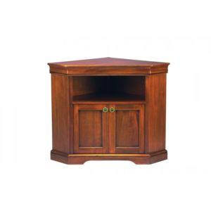 inside 75 meuble tv d 39 angle balzac 2 portes et une niche de style louis philippe marron pas. Black Bedroom Furniture Sets. Home Design Ideas