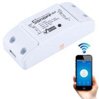 Wewoo - Domotique Maison connectée pour Smart Home, iOS et Android 433MHz Diy WiFi Smart Télécommande sans fil Minuteur Module Interrupteur d'alimentation