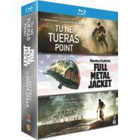 WARNER BROS - Blu-ray : Tu ne tueras point + Lettres d'Iwo Jima + Full Metal Jacket