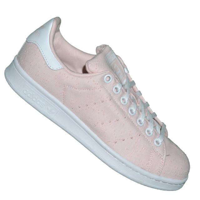 Adidas originals - Baskets - Stan Smith S32166 Tissu - Rose pale