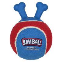 Animalis - Jouet Jumball Gigwi Balle de Tennis pour Chien Rouge