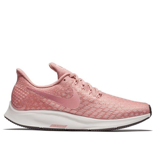 9b1f4132ccb Nike - Air Zoom Pegasus 35 Rose - pas cher Achat   Vente Chaussures ...