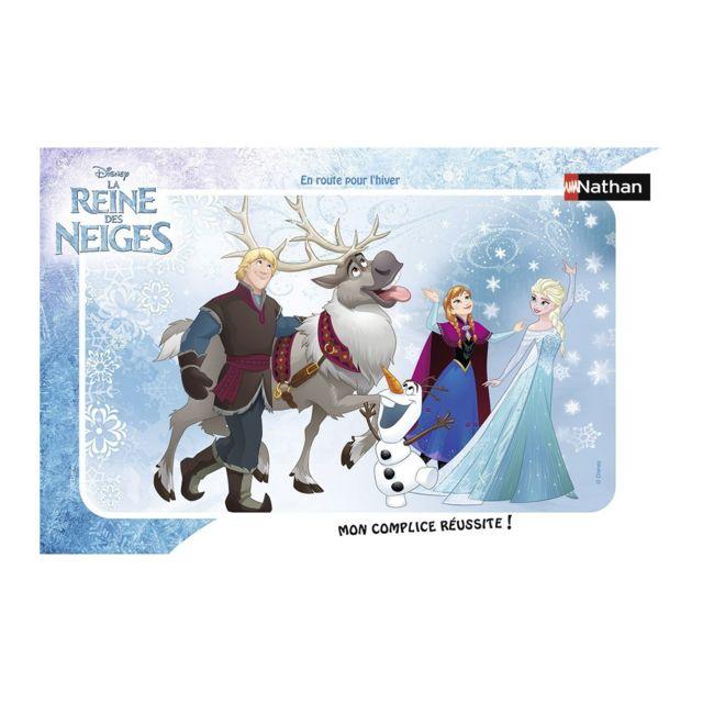 NATHAN Puzzle 15 pièces : En route pour l'hiver, La Reine des Neiges Frozen