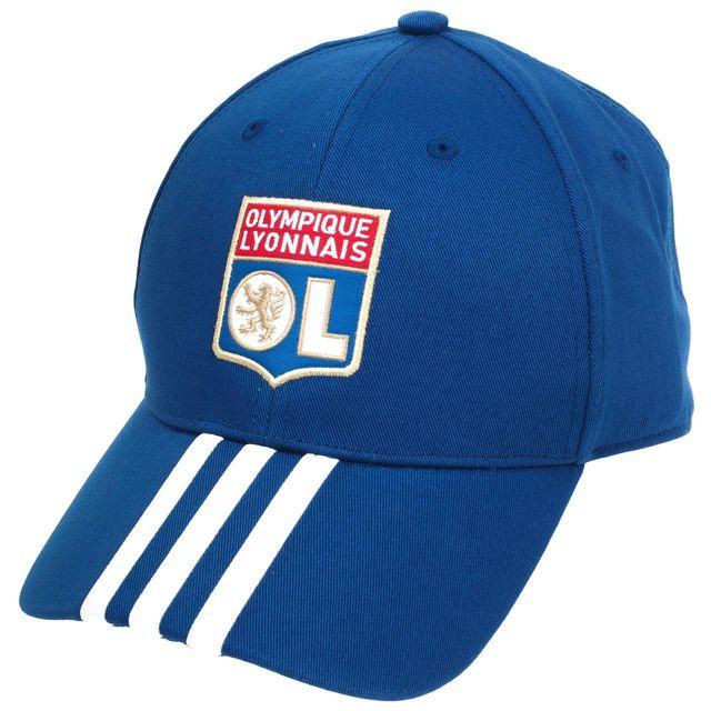 c05584c887c4b Adidas performance - Casquette équipe football Ol casquette 16 17 large  Bleu 70585 - pas cher Achat   Vente Bonnets