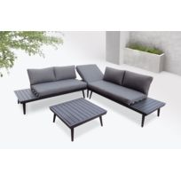 Table de jardin aluminium et composite - Bientôt les Soldes Table de ...