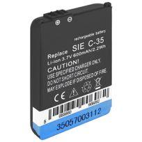 mtb more energy® - Batterie pour Siemens C35, C35i, M35, M35i, S35, S35i / Gigaset 4000 micro, 4000s micro, 4010 micro, 4010s micro, 4015 micro, 4015s micro / Gigaset Active M / M1 / Telekom Sinus 700m