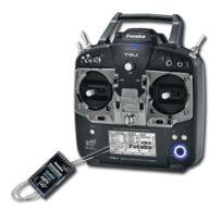 Futaba - Radio 8J + récepteurs R2008SB 2.4Ghz Mode 2