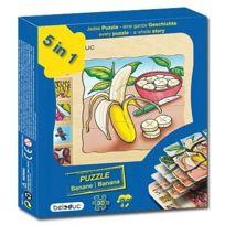 Beleduc - 17049 - Puzzle À Superposition En Bois - Banane - 30 PiÈCES