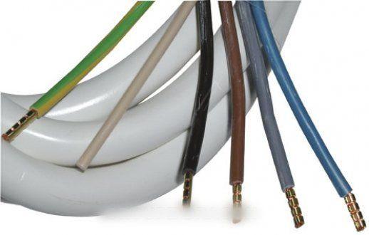 Divers Marques Cordon de connexion four 1,2m 5x2,5mm pour installations constructeurs divers