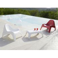 Fauteuil de jardin Relax® - Blanc