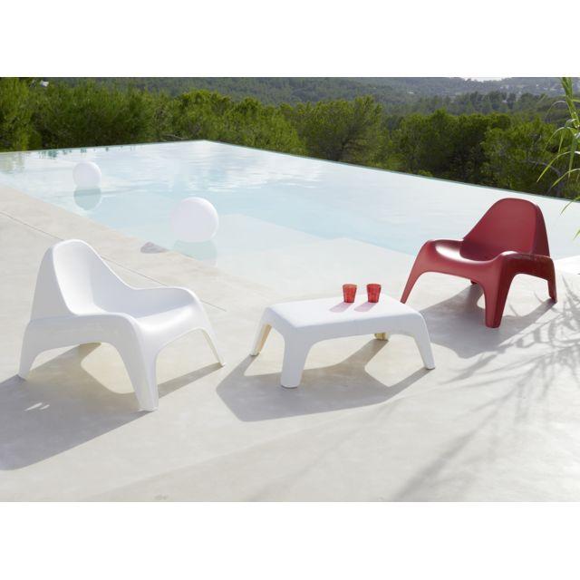 HYBA Fauteuil de jardin Relax® - Rouge Fauteuil de jardin Relax de HYBA. Le fauteuil Relax Hyba a remporté le trophée LSA de l'innovation 2017 !Les équipes de Carrefour sont fières d'avoir créé un fauteuil qui all