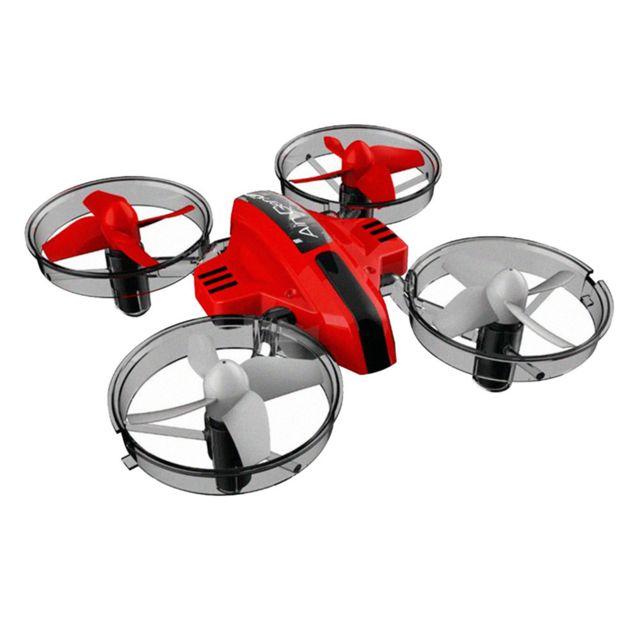 Generic Boy Gift 3 En 1 Mode Sky contrôle à distance Rc terre Drone Hovercraft fixe Aile Glid rouge