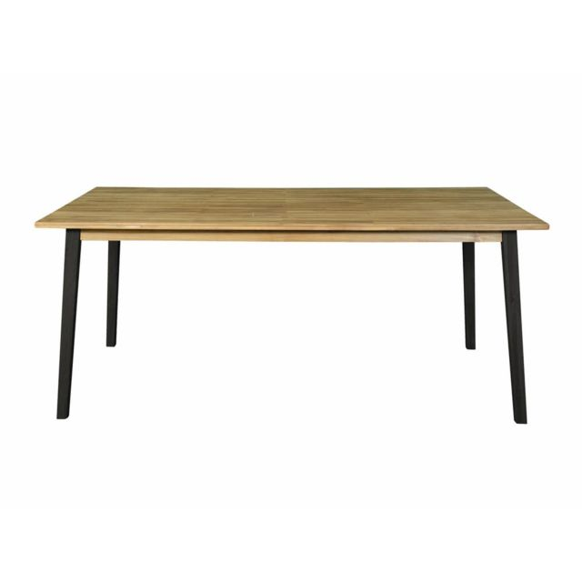 House Bay Table rectangulaire 180x100cm en acacia Fsc Ceylan