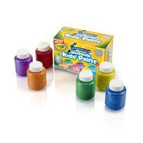 Crayola - 6 pots peinture métallique