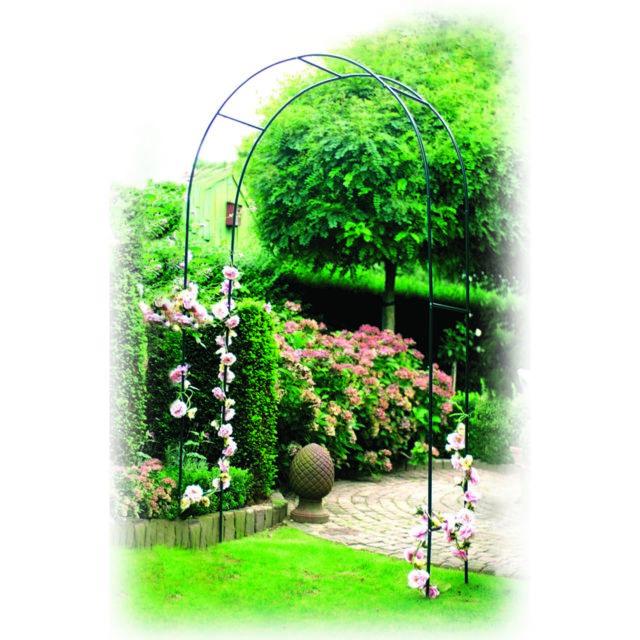 arche rosiers en acier pas cher achat vente banc de jardin rueducommerce. Black Bedroom Furniture Sets. Home Design Ideas