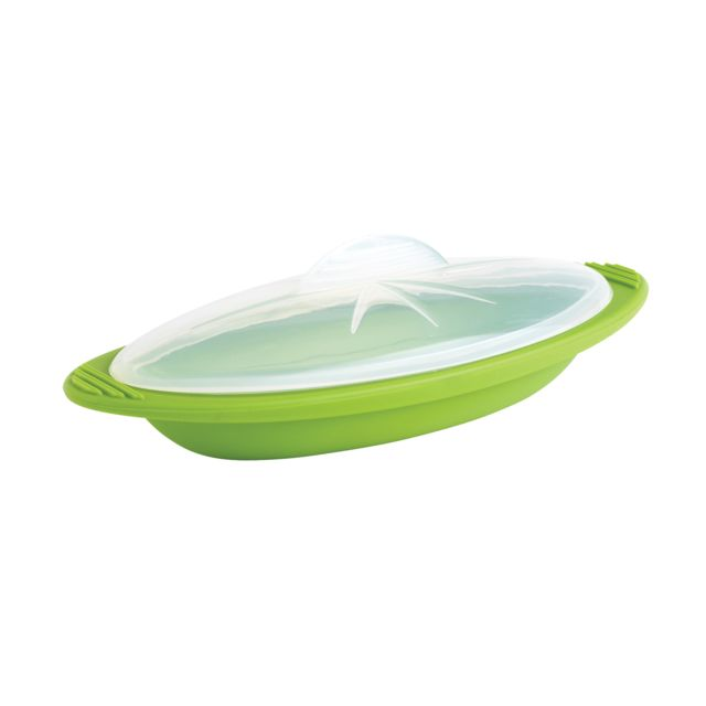 MASTRAD Papillote minute cuisson vapeur - taille individuelle, lot de 2 vert - F68188