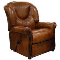 les ventes chaudes 63070 6f826 Fauteuil Relax cuir électrique Miami whisky
