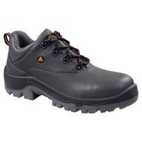Panoply - Chaussures De Securite Et Travail Pour Homme Paire Basse En Cuir Gris Norme En345 Src S3