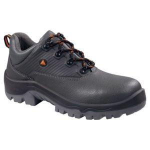 Panoply - Chaussures de sécurité et travail pour homme Paire basse en cuir  gris Norme En345