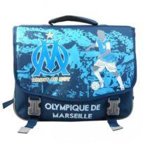 Olympique Marseille - Om Cartable scolaire école enfant garçon - Bleu