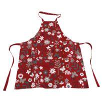 Ziczac - Tablier 100% coton motif floral 80x85cm Flowers