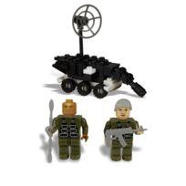 Best-Lock - Stargate Sg-1 - Jeu de construction Jack & Teal`C