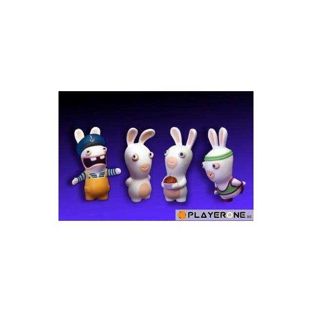 Figurine LAPINS CRETINS Boxer 9 cm